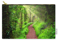 Carry-all Pouch featuring the photograph Sunrise Avenue by Edmund Nagele