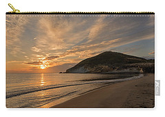 Sunrise On The Beach Of The Genoveses Of Cabo De Gata Carry-all Pouch