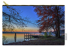 Carry-all Pouch featuring the photograph Sunrise On The Patuxent by Cindy Lark Hartman