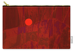 Sunset As Siler Metaphorm Carry-all Pouch