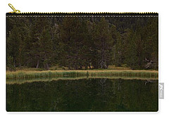 Carry-all Pouch featuring the photograph Sunset At Ibonet De Batisielles by Stephen Taylor