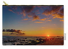 Sunset At Kailua Beach Carry-all Pouch