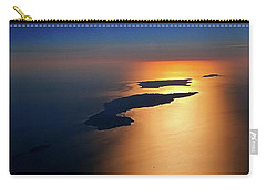 Sunset At Lyon Rock II Carry-all Pouch