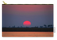 Sunset In Botswana Carry-all Pouch