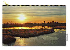 Sunset In Pitt Meadows Carry-all Pouch
