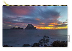 Sunset In The Mediterranean Sea With The Island Of Es Vedra Carry-all Pouch