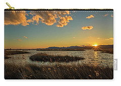 Sunset In The Natural Park Of Prat De Cabanes Carry-all Pouch
