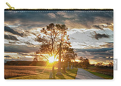 Sunset In The Tree Carry-all Pouch