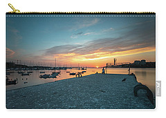 Carry-all Pouch featuring the photograph Sunset Looker by Bruno Rosa