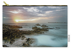Carry-all Pouch featuring the photograph Sunset Matosinhos by Bruno Rosa