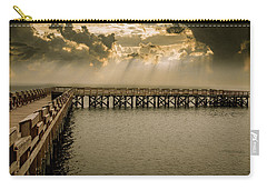Sunset On Pier Carry-all Pouch