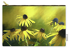 Sunshine On Black Eyed Susan Carry-all Pouch
