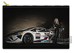 Carry-all Pouch featuring the photograph Super Fast by Brad Allen Fine Art