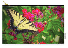 Swallowtail Among Flowers Carry-all Pouch