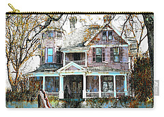 Carry-all Pouch featuring the digital art Swamp House by Pennie McCracken