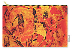 Carry-all Pouch featuring the painting Sweep by 'REA' Gallery