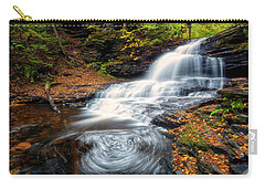 Carry-all Pouch featuring the photograph Swirls by Russell Pugh