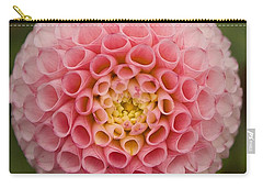 Carry-all Pouch featuring the photograph Symmetrical Dahlia by Brian Eberly