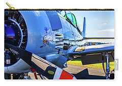 Carry-all Pouch featuring the photograph T-28b Trojan Banshee  by Doug Camara