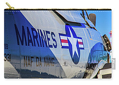 Carry-all Pouch featuring the photograph T-28b Trojan by Doug Camara