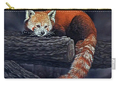 Takeo, The Red Panda Carry-all Pouch