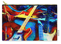 Carry-all Pouch featuring the digital art Taking A Break by Pennie McCracken