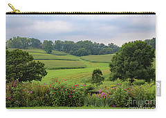 Carry-all Pouch featuring the photograph Taliesin Landscape by PJ Boylan