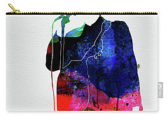 Talking Heads Watercolor Carry-all Pouch
