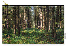 Tall Trees In Sherwood Forest Carry-all Pouch