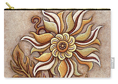 Tapestry Flower 1 Carry-all Pouch