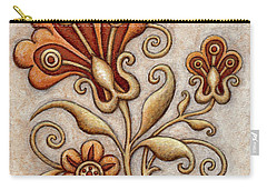 Tapestry Flower 3 Carry-all Pouch