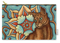 Tapestry Cat Carry-all Pouch