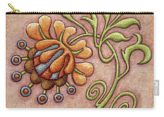 Tapestry Flower 10 Carry-all Pouch
