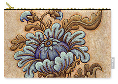 Tapestry Flower 5 Carry-all Pouch