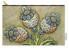 Tapestry Flower 6 Carry-all Pouch