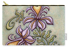 Tapestry Flower 8 Carry-all Pouch