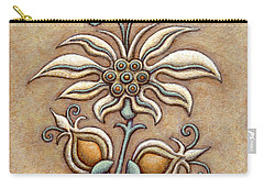 Tapestry Flower 9 Carry-all Pouch