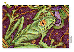 Tapestry Frog Carry-all Pouch