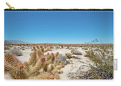 Teddy Bear Cactus Carry-all Pouch