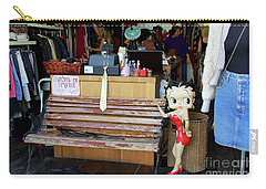 Carry-all Pouch featuring the photograph Tel Aviv Flea Market by PJ Boylan