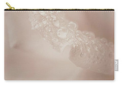 Tenderly Watered Rose Carry-all Pouch