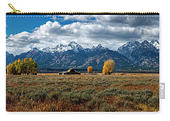 Carry-all Pouch featuring the photograph Tetons And Mormon Row by Scott Read
