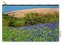 Texas Bluebonnets And Enchanted Rock 2016 Carry-all Pouch