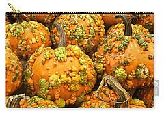 Textured Pumpkins  Carry-all Pouch