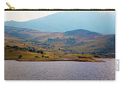 Carry-all Pouch featuring the photograph That Small Island by Milena Ilieva