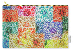 Carry-all Pouch featuring the digital art That Which Binds Us All by Mike Braun