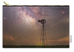Carry-all Pouch featuring the photograph That's My Kind Of Night  by Aaron J Groen