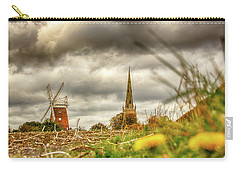 Thaxted Windmill And Church Carry-all Pouch