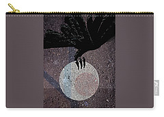 Carry-all Pouch featuring the digital art The Abduction Of The Moon by Attila Meszlenyi
