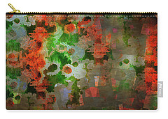 Carry-all Pouch featuring the digital art The Anesthetised Soul by Edmund Nagele